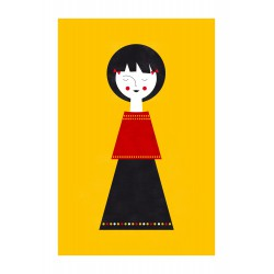 Print Babydoll II Blanca Gomez