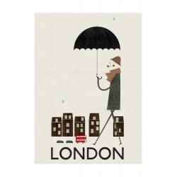 Affiche London Blanca Gomez