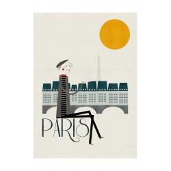 Affiche Paris Blanca Gomez