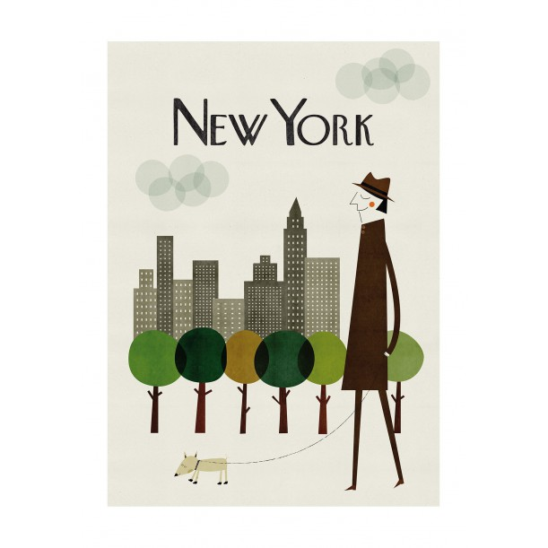 Print New York Blanca Gomez