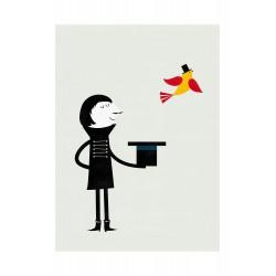 Affiche Le Magicien Blanca Gomez