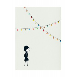 Print La Fête Blanca Gomez