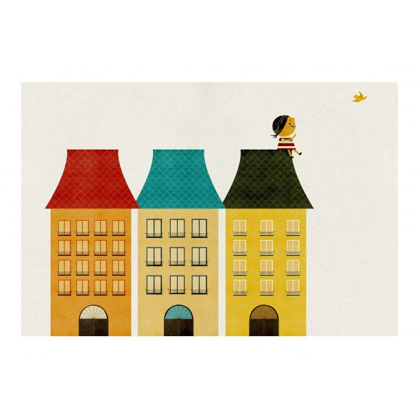 Print On the Roof Blanca Gomez