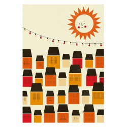 Affiche Sunny City Blanca Gomez