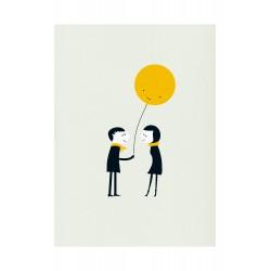 Affiche Present Blanca Gomez