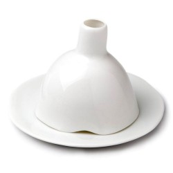 Igloo Smooth Glazed Porcelain Candleholder Tsé Tsé