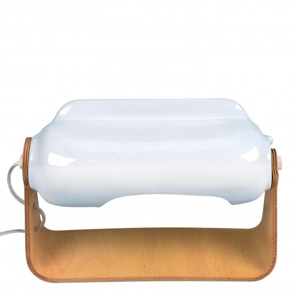 Polar Boreal Lamp with Leg in Oiled Plywood Tsé-Tsé
