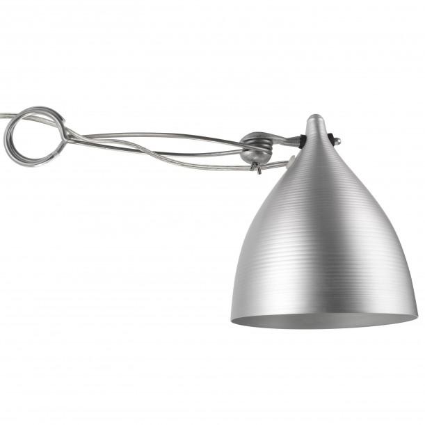 Lampe Cornette à Pincer Aluminium Naturel Tsé & Tsé
