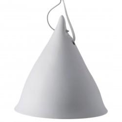Grande Lampe Cornette Porcelaine blanc Mat Tsé & Tsé