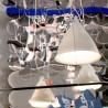 Large Cornette Pendant Lamp White Matt Porcelain Tsé & Tsé