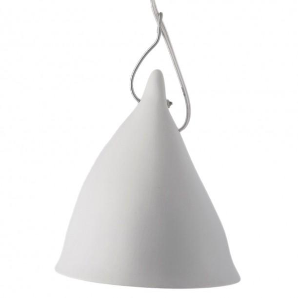 Lampe Cornette Suspendue Porcelaine Mate Tsé & Tsé