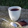Tasse à Café Assoiffée Porcelaine Blanc Brillant Diam 7 cm Tsé & Tsé