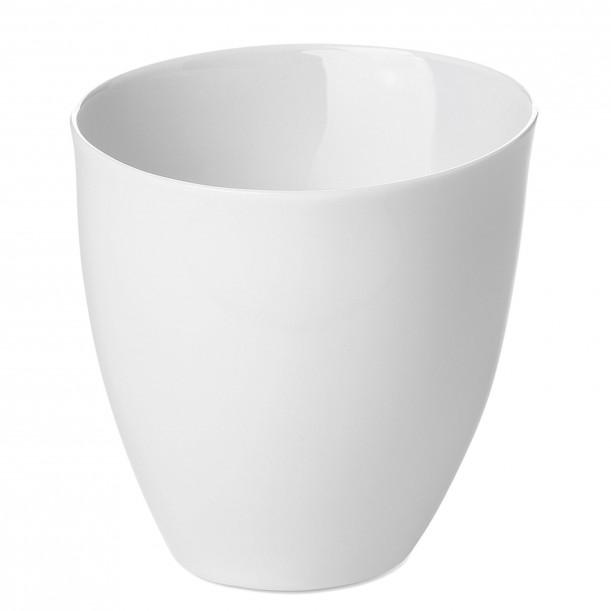 Tea Cup Assoiffée Porcelain Glossy White Diam 8,5 cm Tsé & Tsé