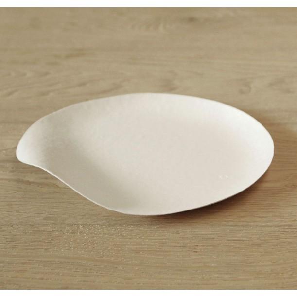 8 Round Plates Maru Large Diam 230 mm Wasara
