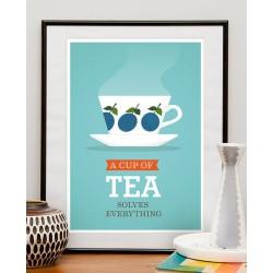 Print A Cup of Tea
