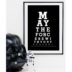 Affiche May the Force be with You