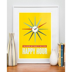 Affiche Happy Hours