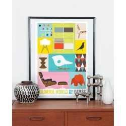 Print Eames Colorful