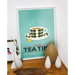 Print Tea Time