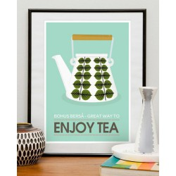 Affiche Enjoy Tea