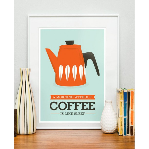 Affiche Morning Coffee