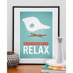 Affiche Eames Relax