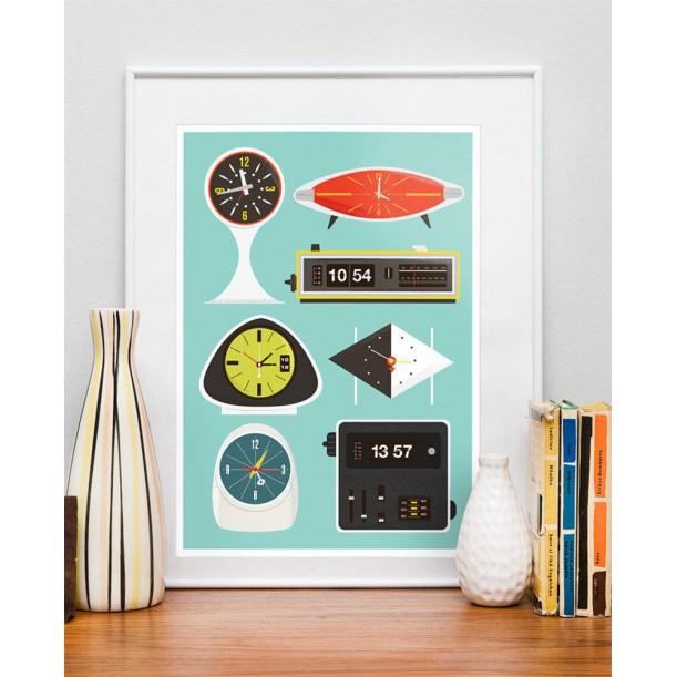 Affiche Clocks