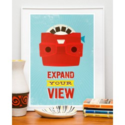 Affiche Expand Your View