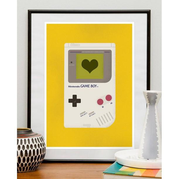 Affiche Game Boy
