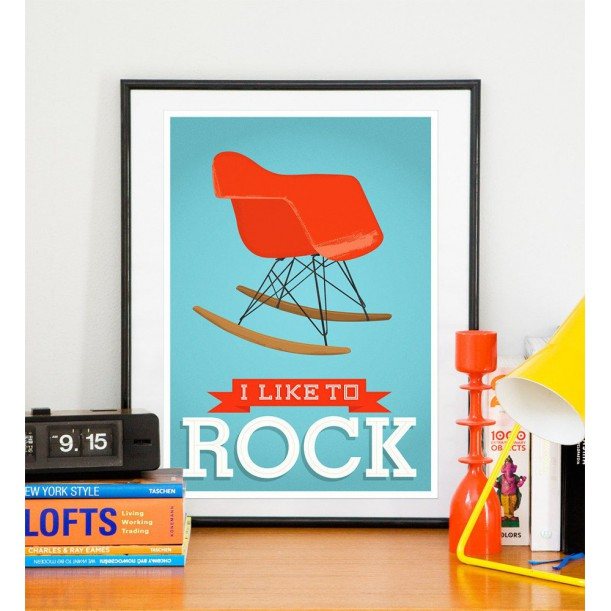 Affiche I Like To Rock