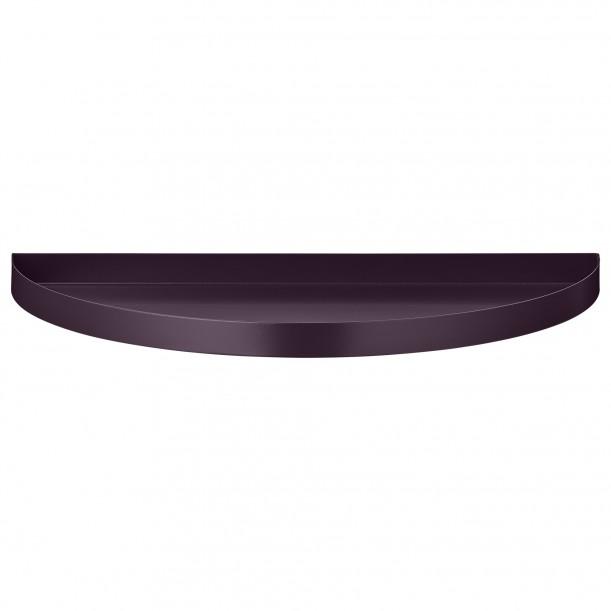 Half Circle Tray Unity Bordeaux 33 x 16,5 cm AYTM