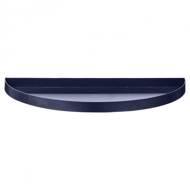 Plateau Demi Cercle Bleu Unity 33 x 16,5 cm AYTM