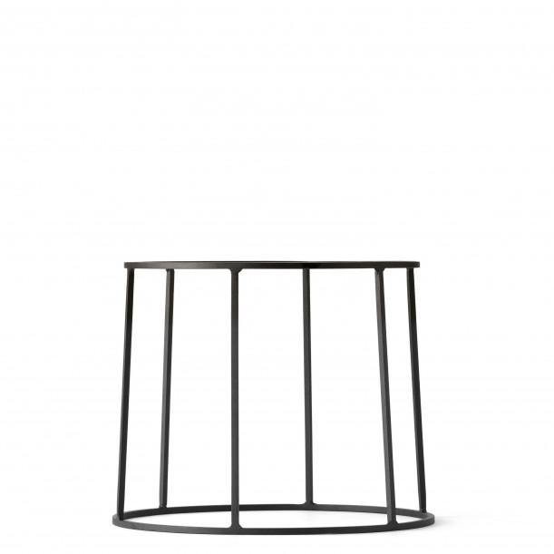 Wire Base 202 Black H 20 cm for Oil lamp - Flowerpot - Marble top Menu
