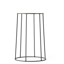 Wire Base 404 Black H 40 cm for Oil lamp - Flowerpot - Marble top Menu