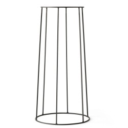 Support Wire 606 Noir H 60 cm pour Lampe à huile - Pot - Tablette Menu
