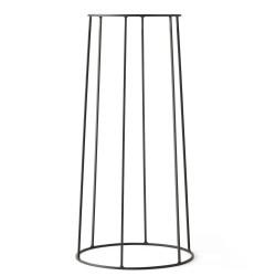 Wire Base 606 Black H 60 cm for Oil lamp - Flowerpot - Marble top Menu