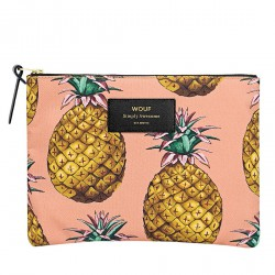 Pochette Ananas Large 21,5 x 16,5 x 2 cm WOUF
