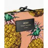 Pouch Ananas Large 21,5 x 16,5 x 2 cm WOUF