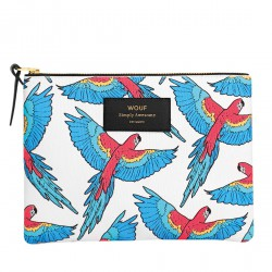 Pouch Papagayo Large 21,5 x 16,5 x 2 cm WOUF