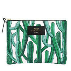 Pouch Wild Cactus Large 21,5 x 16,5 x 2 cm WOUF