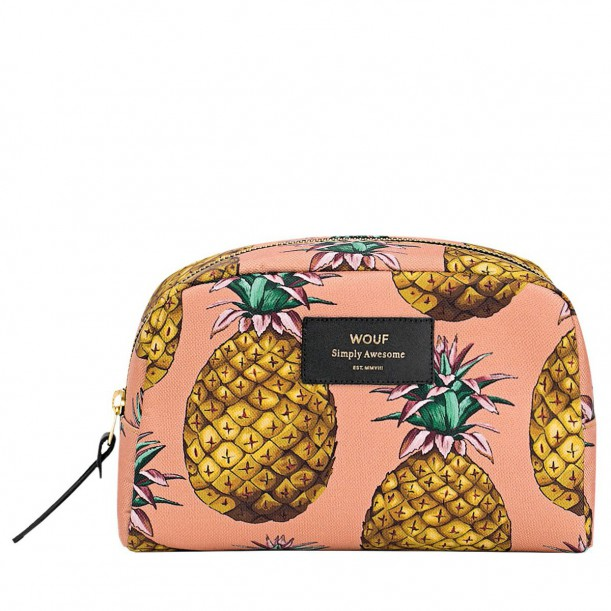 Toilet Bag Ananas 21 x 14 x 7,5 cm WOUF