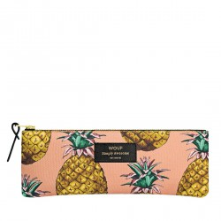 Pencil Case Ananas 21,5 x 8 x 2 cm WOUF