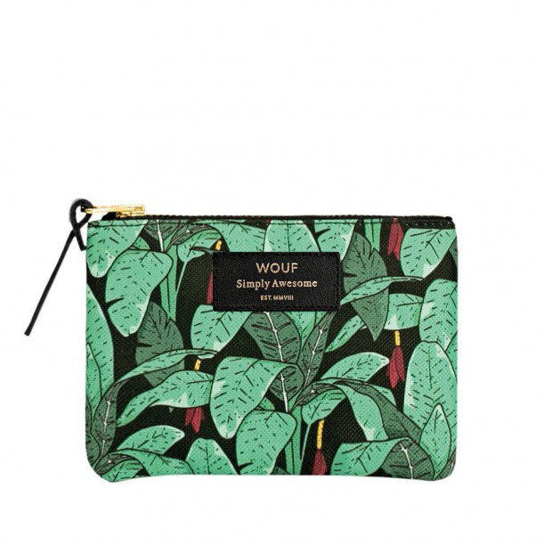 Pouch Jungle Small 13 x 11 x 2 cm WOUF