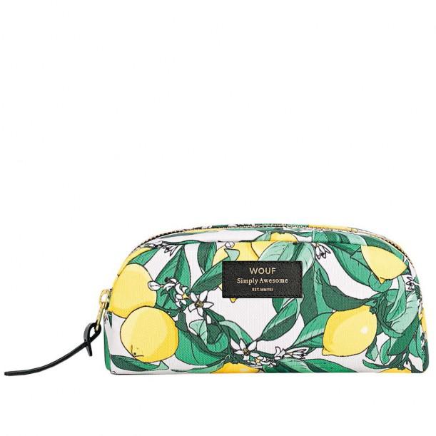 Trousse à Cosmétiques Lemon 18,5 x 9 x 6,5 cm WOUF