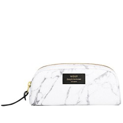 Cosmetic Bag White Marble 18,5 x 9 x 6,5 cm WOUF