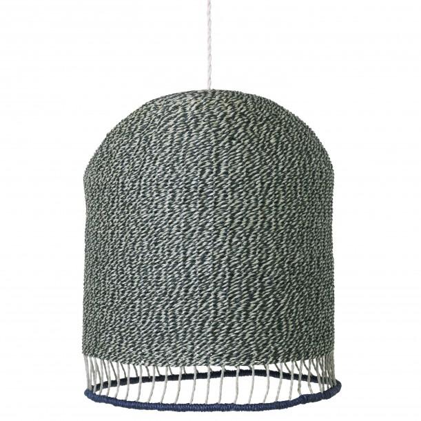 Lampe Suspension Braided Tall Vert Diam 28 cm Ferm Living