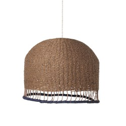 Lampe Suspension Braided Low Vieux Rose Diam 37 cm Ferm Living