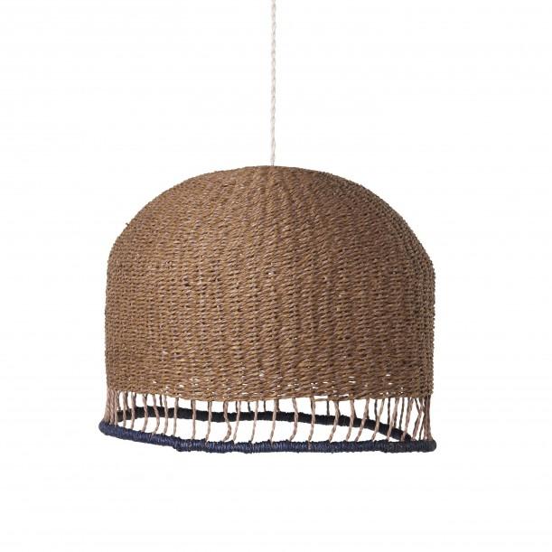 Lampe Suspension Braided Low Vieux Rose Diam 37 cm Ferm Living