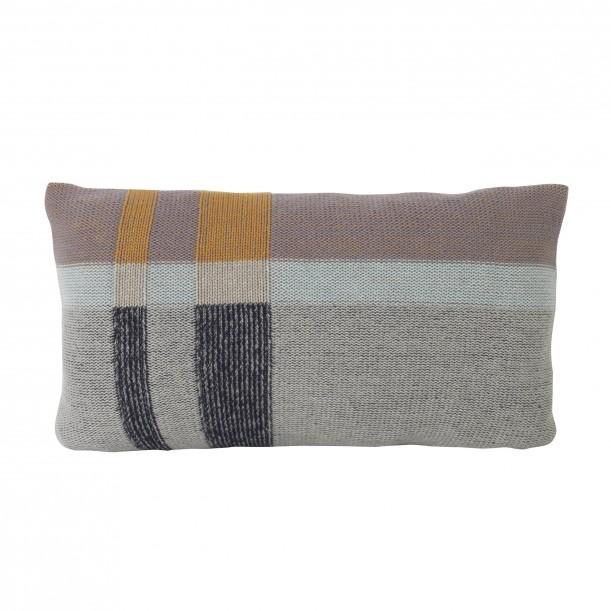 Coussin Medley Knit Menthe Tricoté Small 40 x 25 cm Ferm Living