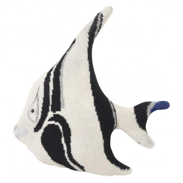 Fruiticana Cushion Stripy Fish 31 x 21 cm Ferm Living